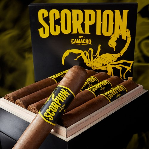 Camacho Scorpion Sun Grown Super Gordo Cigars