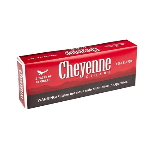 "Cheyenne Filtered Full Natural (Cigarillos) (3.8""x20) BOX (200)"
