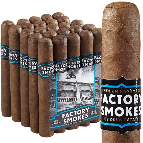 "Drew Estate Factory Smokes Robusto Sun Grown (5.0""x54) PACK (25)"