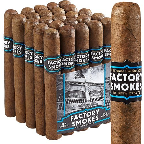 "Drew Estate Factory Smokes Toro Sun Grown (6.0""x52) PACK (25)"