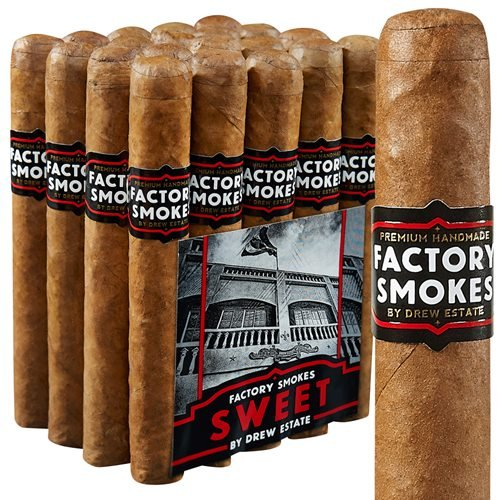 "Drew Estate Factory Smokes Toro Habano Sweet (6.0""x52) PACK (20)"