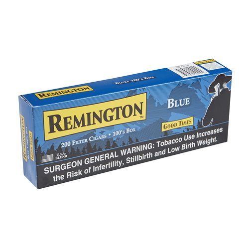 "Remington Filtered Smooth Natural Filtered (Cigarillos) (3.8""x18) BOX (200)"