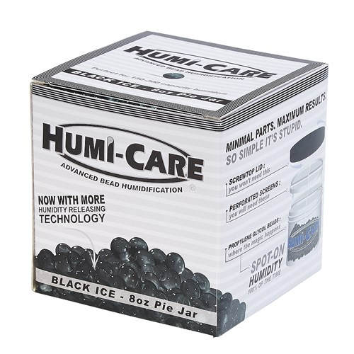 HUMI-CARE Black Ice 8oz Pie Jar  8 Ounces