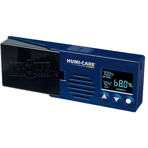 Humi-Care Turbo By Cigar Oasis  Blue