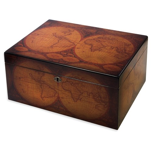 Old World 100 Count Humidor  100 Cigar Capacity