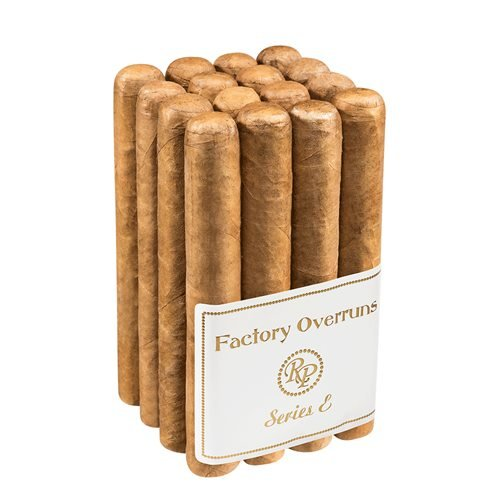"Rocky Patel Factory Overruns Series E Sixty Connecticut Gordo (6.0""x60) PACK (16)"