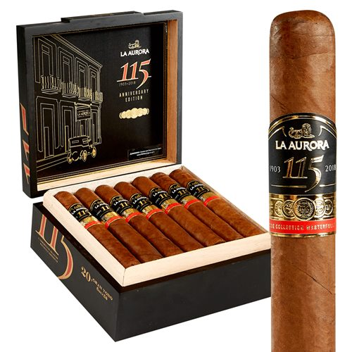 "La Aurora 115 Gran Toro (Double Toro) (6.0""x58) Box of 20"