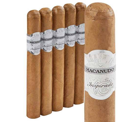 "Macanudo Inspirado White Toro Connecticut (6.5""x50) PACK (5)"