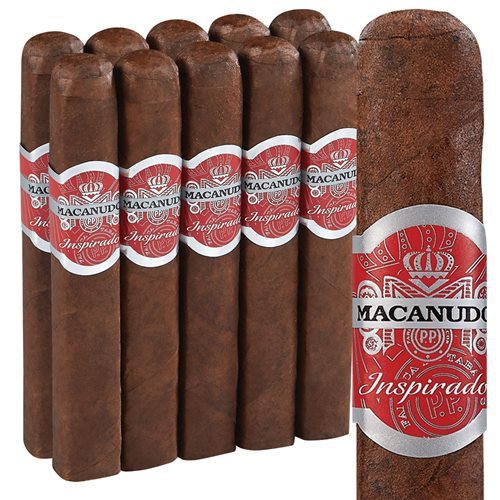 Macanudo Inspirado Red Box-Pressed Robusto Pack of 10 Cigars