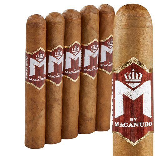 "M Bourbon by Macanudo Robusto Connecticut (5.0""x50) PACK (5)"