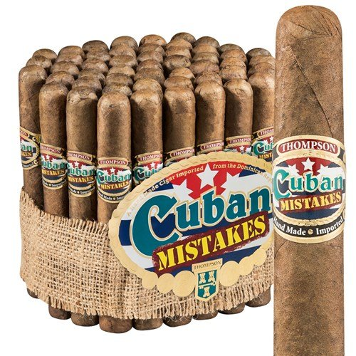 "Cuban Mistakes Toro Maduro (6.0""x50) BUNDLE (50)"
