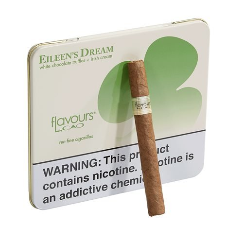 "CAO Flavours Eileen's Dream Chocolate Cigarillo Cameroon (Cigarillos) (4.0""x30) PACK (10)"