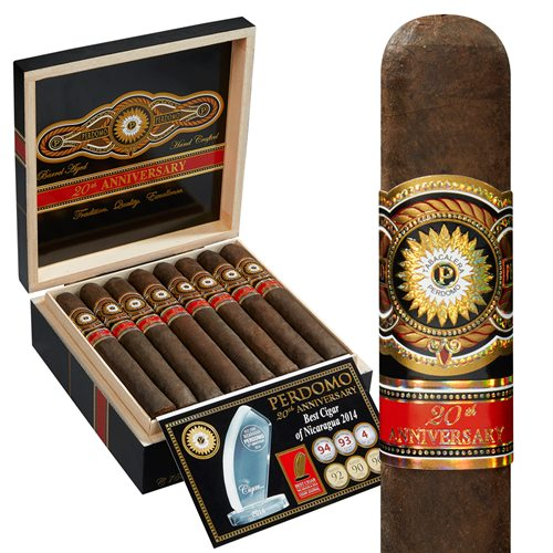 "Perdomo 20th Anniversary Churchill Maduro (7.0""x56) BOX (24)"