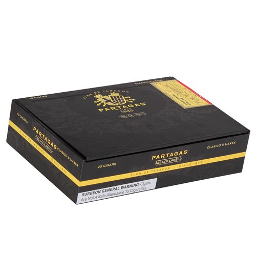 Partagas Black Label Clasico Sun Grown Cigars