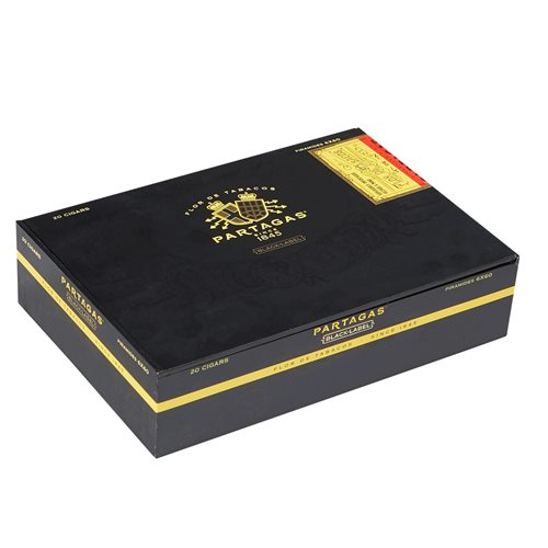 "Partagas Black Label Piramide Sun Grown (Pyramid) (6.0""x60) BOX (20)"