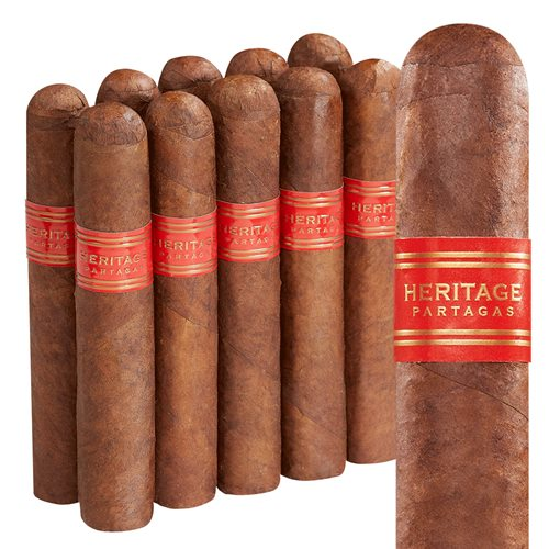 "Partagas Hertiage Rothschild (4.5""x50) Pack of 10"