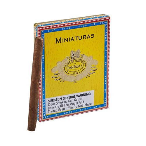 "Partagas Miniatures Cameroon (Cigarillos) (3.7""x24) PACK (8)"