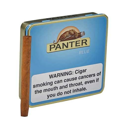 "Agio Panter Blue Natural Mini Cigarillo (Cigarillos) (3.0""x21) PACK (20)"
