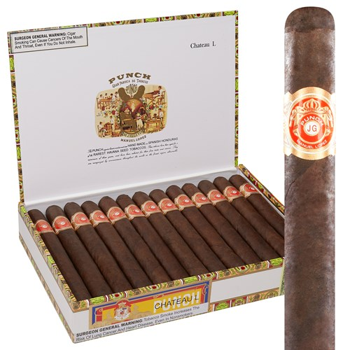Punch Deluxe Chateau L Churchill Maduro Cigars