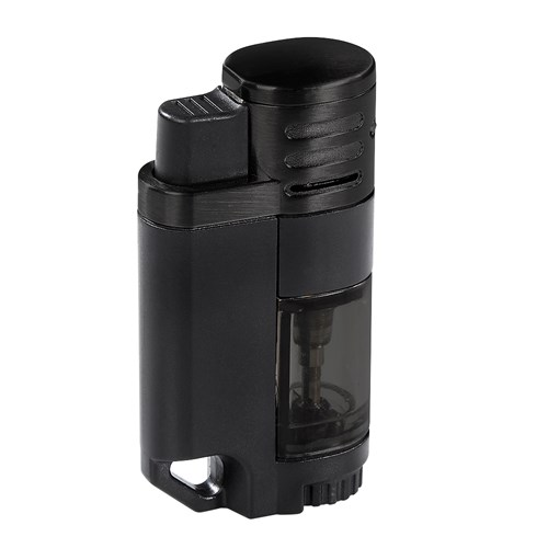 Rockwell Quad Torch Lighter  Black