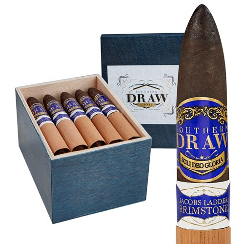 "Southern Draw Jacobs Ladder Brimstone Maduro (Perfecto) (6.0""x56) BOX (20)"