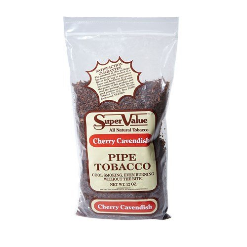 Super Value Cherry 12oz Cherry Pipe Tobacco  12 Ounce Bag