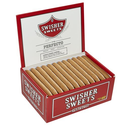 "Swisher Sweets Perfecto Natural Sweet (5.0""x41) BOX (60)"