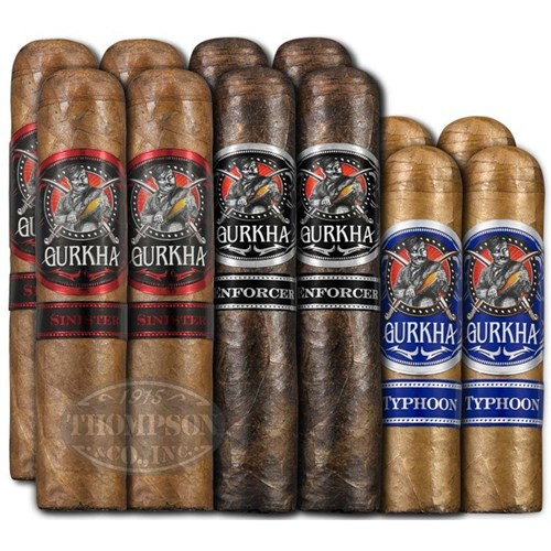 Gurkha Big Ring Dirty Dozen Gordo Cigar Sampler