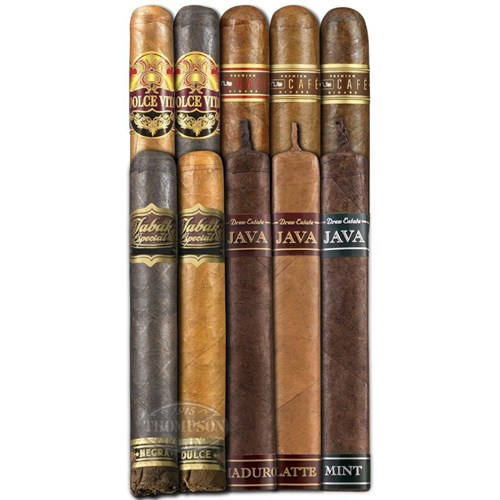 Breakfast Blend 10 Infused Sampler Cigar Samplers