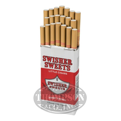 Swisher Sweets Little Cigars 2-Fer Natural Filtered Cigarillo Cherry