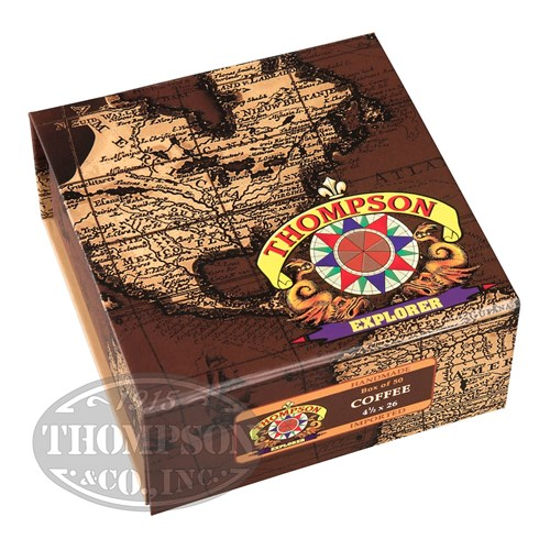 Thompson Explorer Flavors Cigarillo Habano Coffee 2-Fer