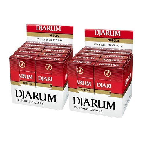 Djarum Special Blend Natural Filtered Cigarillo Clove 2-Fer