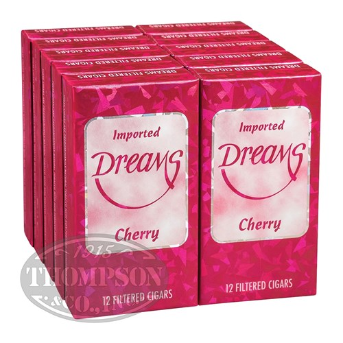 Dreams Luxury Filtered Cigarillo Natural Cherry
