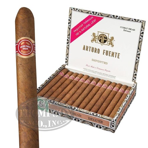 Arturo Fuente Curly Head Deluxe Lonsdale Natural - Thompson Cigar