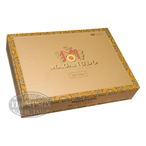 Macanudo Gold Label Tudor Toro Connecticut Cigars