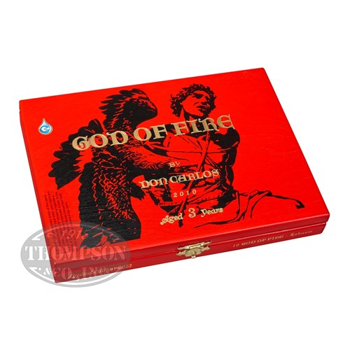 Arturo Fuente God Of Fire By Don Carlos Robusto Sun Grown Cigars