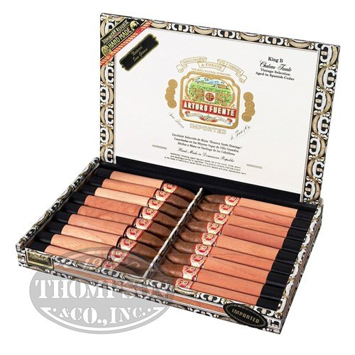Arturo Fuente Chateau Series Queen B Belicoso Sun Grown Cigars