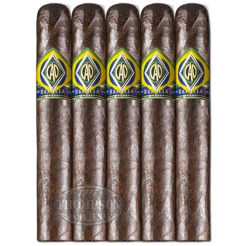 CAO Brazilia Gol Robusto 5-Pack Cigars