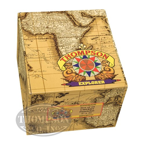 Thompson Explorer Flavors Panetela Natural Cherry Cigars