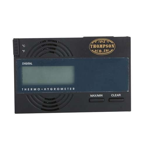 Digital Hygrometer  Black