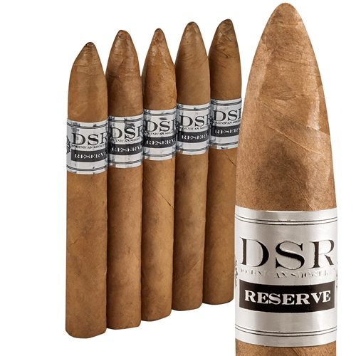 "Dominican Short Run Torpedo Connecticut (6.0""x52) PACK (5)"