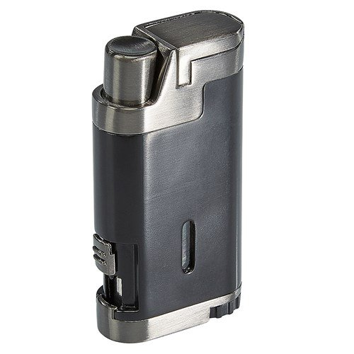 Lotus Vertigo Dual Torch Lighter  Black