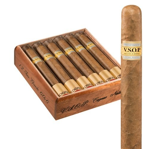 "VSOP Tubes Toro Gordo Cognac Natural (6.0""x60) BOX (12)"