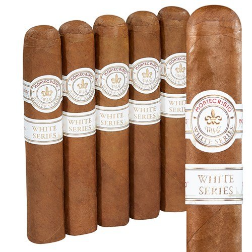 "Montecristo White Label Rothschilde Connecticut (Robusto) (5.0""x52) PACK (5)"