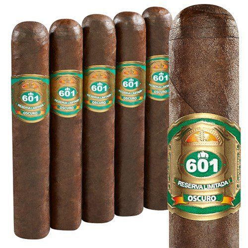 "601 Green Label Tronco Oscuro Robusto (5.0""x52) PACK (5)"