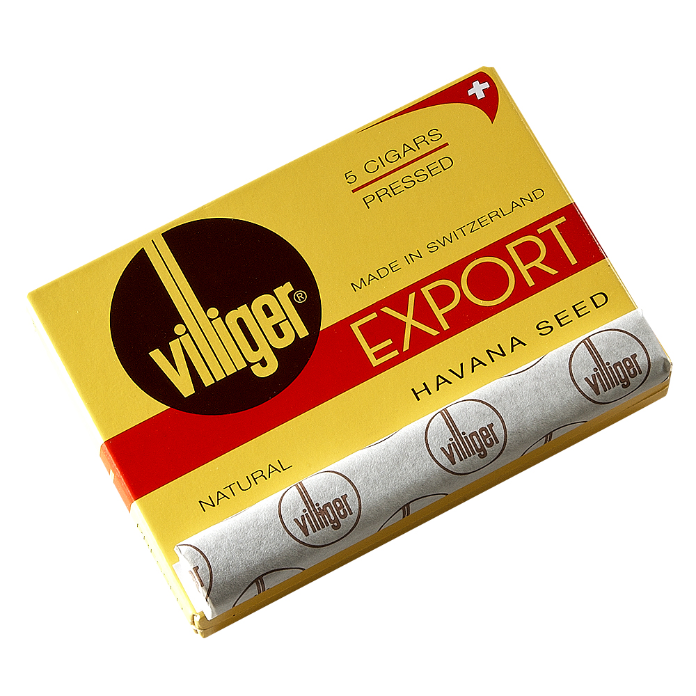 photo of Villiger Export Natural Cigarillo - PACK (5) by Thompson Cigar
